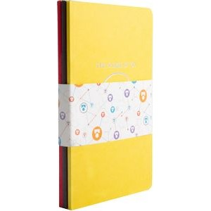 BrightNotes� TriPac NotePad w/GraphicWrap (3 Count) (5